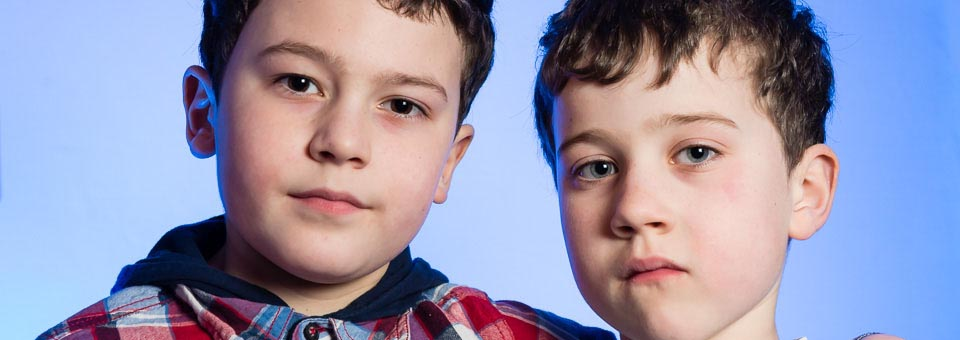 Portraiture Image of Two Young Boys